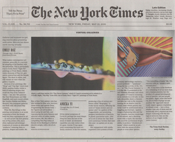New York Times review by Martha Schwendener